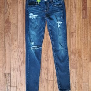 *2/$20 American Eagle stretch distressed jeans, 4